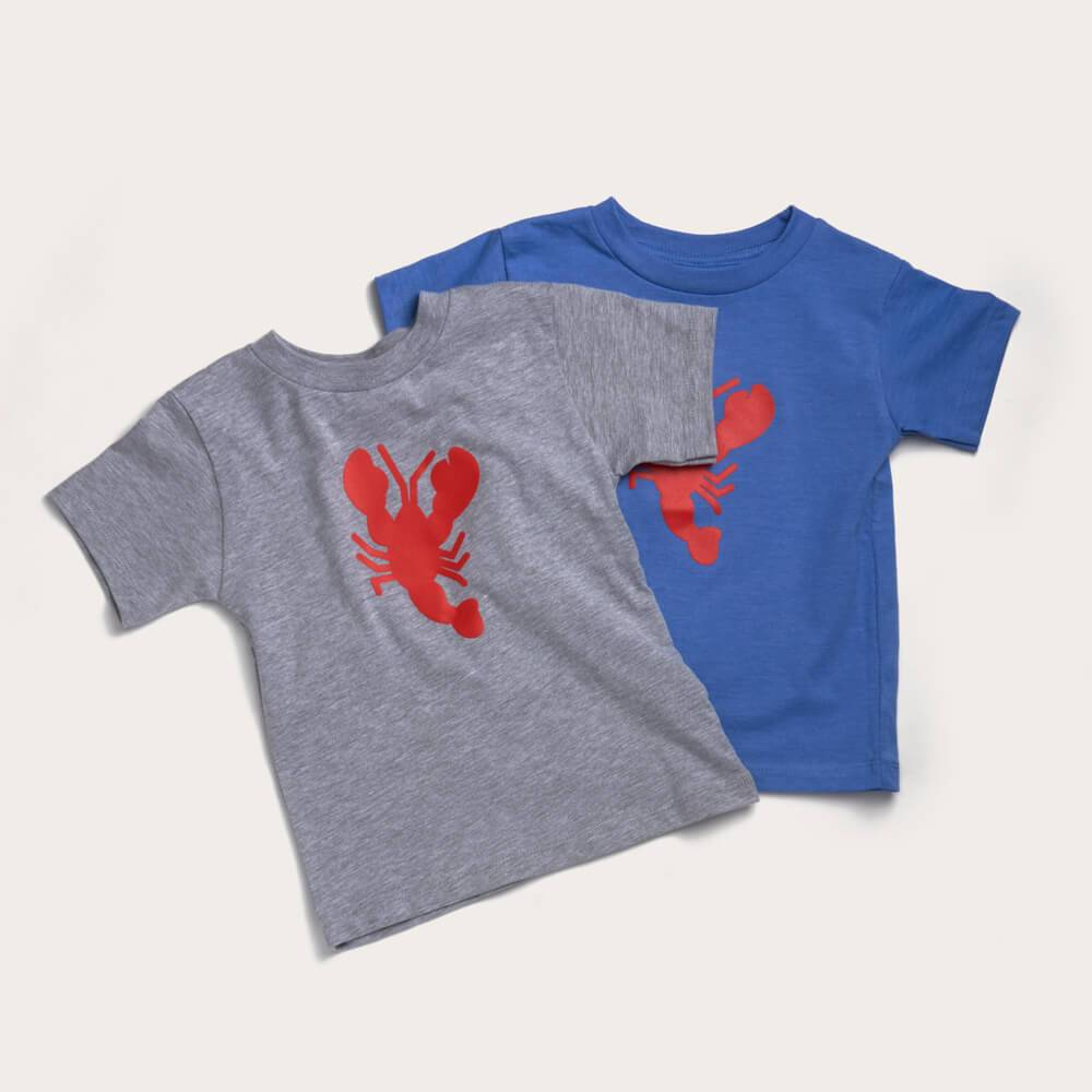 Toddler Tees - Blue Heather
