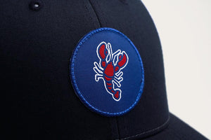 Lobster Patch Trucker Hat - Navy