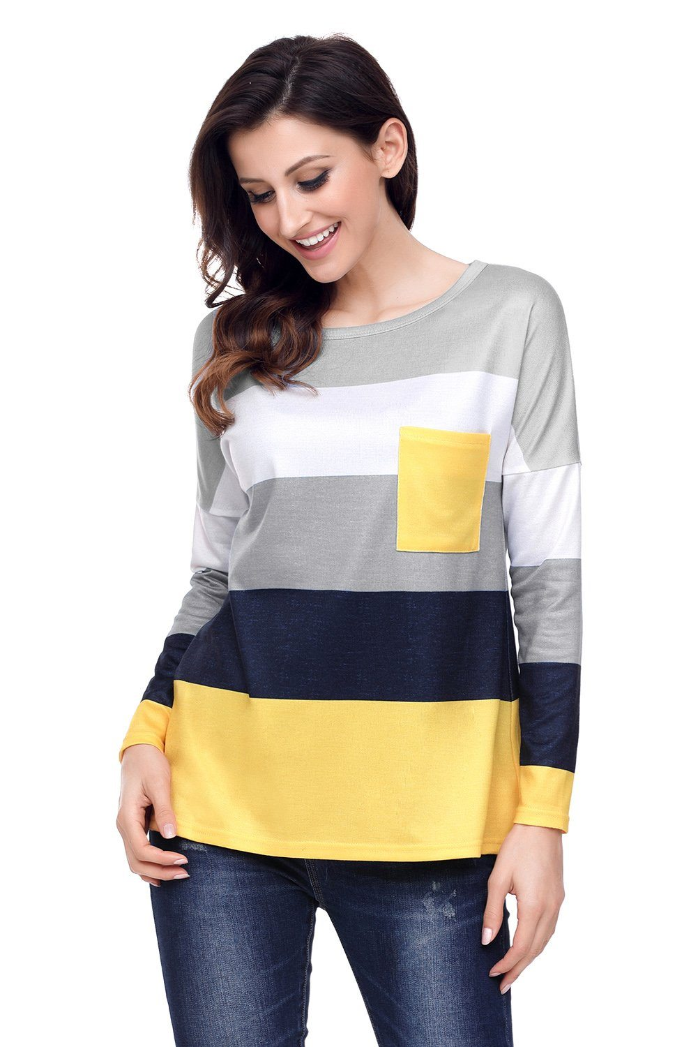 KaleaBoutique Bumble Bee Black Yellow Pullover Tunic Top - KaleaBoutique.com