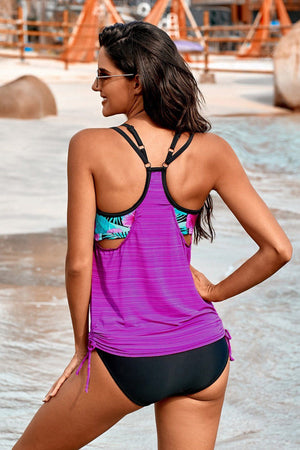 KaleaBoutique Beautiful 2 Piece Printed Lined Tankini Swimsuit - KaleaBoutique.com