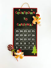 Load image into Gallery viewer, Christmas Countdown Chalkboard