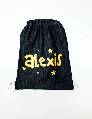 Classic Personalized Drawstring Bags
