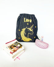Load image into Gallery viewer, Classic Personalized Drawstring Bags