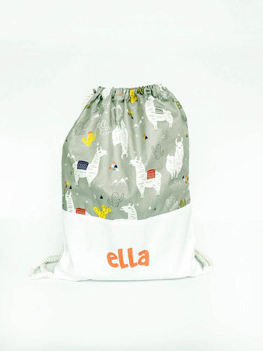 Printed Personalized Drawstring Bags - NEW