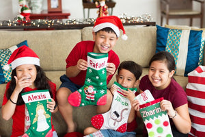 Personalized Holiday Stockings