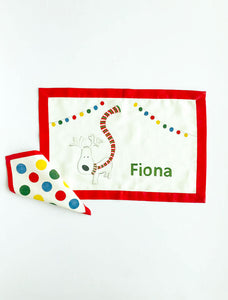Personalized Fabric Placemats