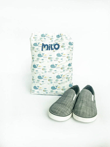 Printed Personalized Shoe Bags - NEW