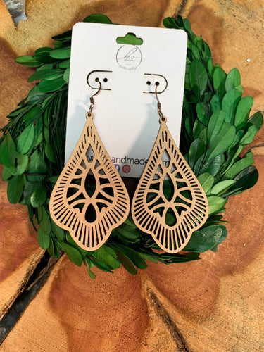 Laser Cut Wood Earrings-016