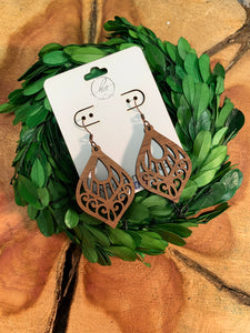 Laser Cut Wood Earrings-013