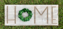 Load image into Gallery viewer, Preserved Boxwood Home Sign