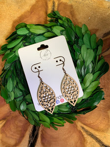 Laser Cut Wood Earrings-017