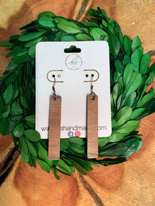 Laser Cut Wood Earrings-011