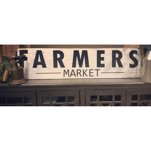 Farmer's Market Frameless