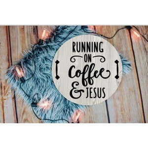 Running on coffee