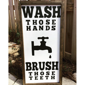 Wash those hands