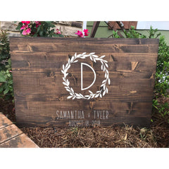 Wedding Guest Sign