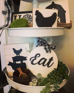 Farm House Tray Decor