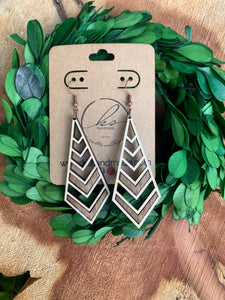 Laser Cut Wood Earrings-035
