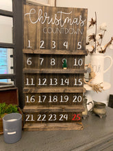 Load image into Gallery viewer, Christmas Countdown