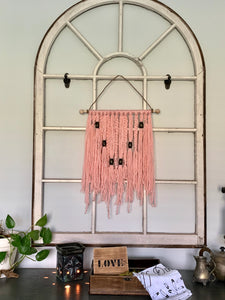 Wool Wall Hanging-Pink