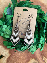 Load image into Gallery viewer, Laser Cut Wood Earrings-035