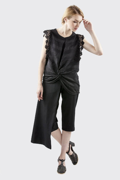 Etheline Top Black