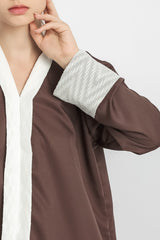 Aluna Sania Tunic in Matte Brown