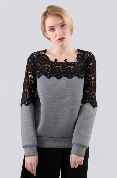 Etheline Sweater Grey