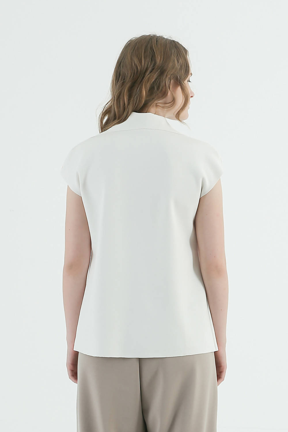 Audrey Top White