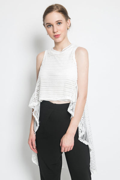 Colleen Carline Top in White