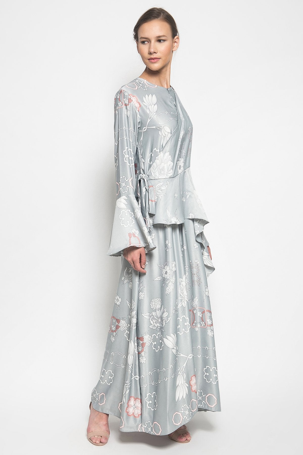 Fantasy Dress in Grey