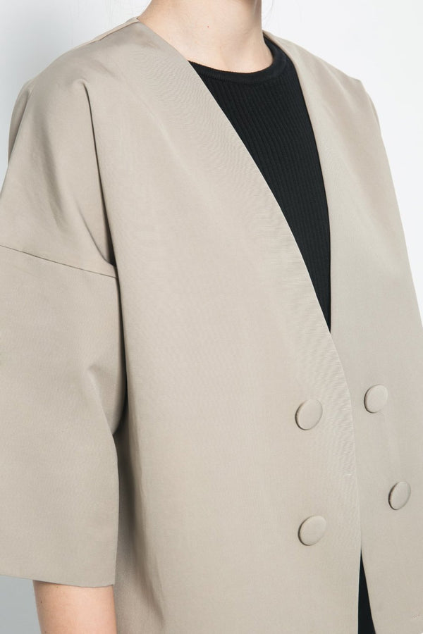Haze Outer in Khaki