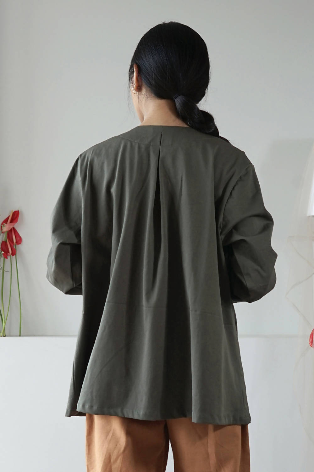 Lily Top Green