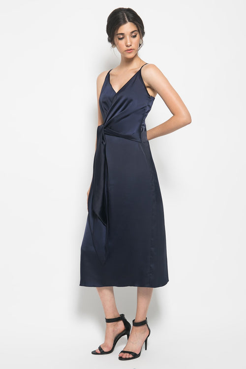 Lulu Front Tied Dress