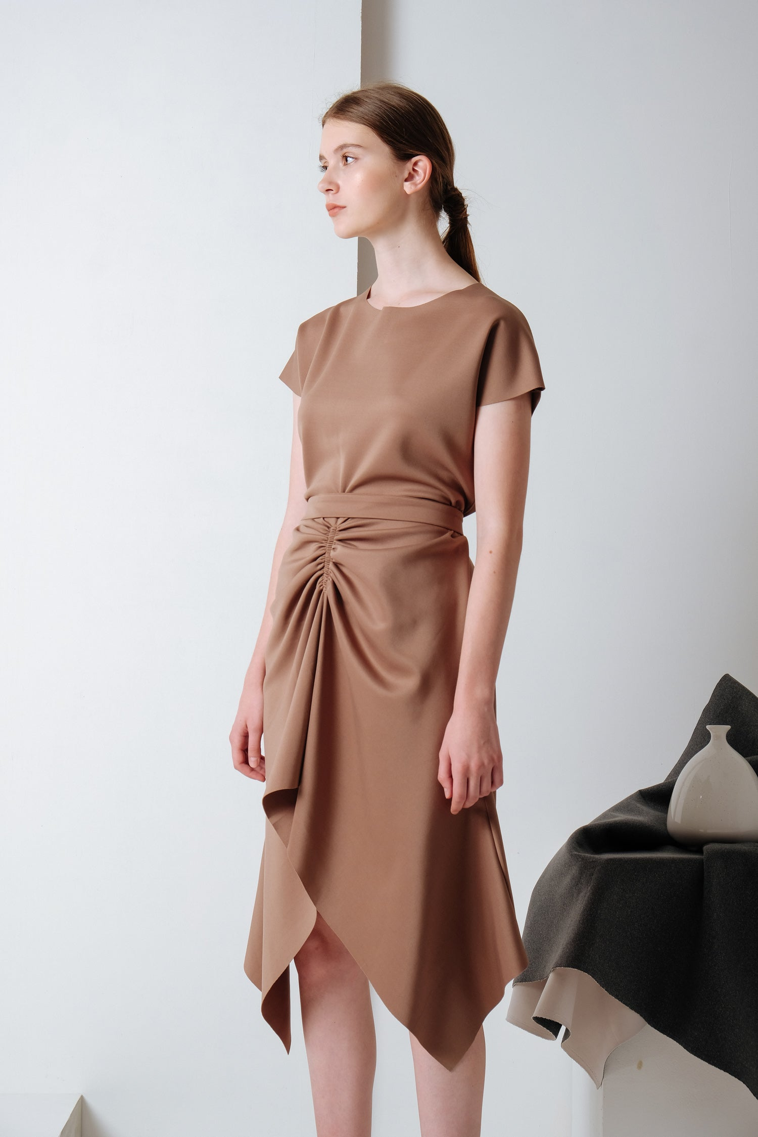 Nox Dress Walnut