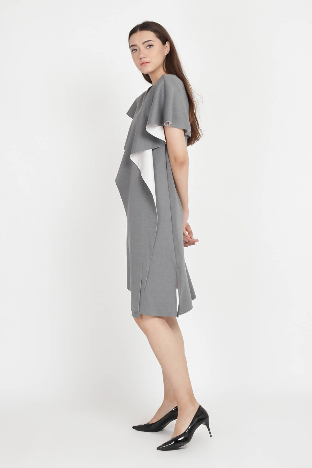 Audrey Multiway Dress in Grey