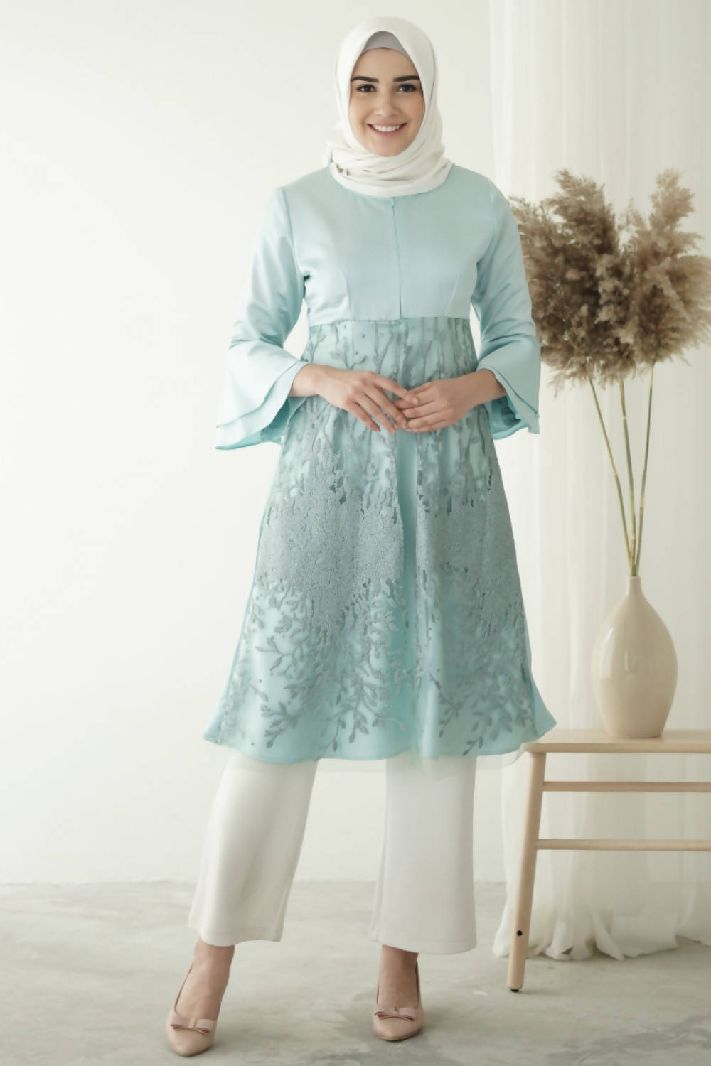 Elana Dress Tunic Mint