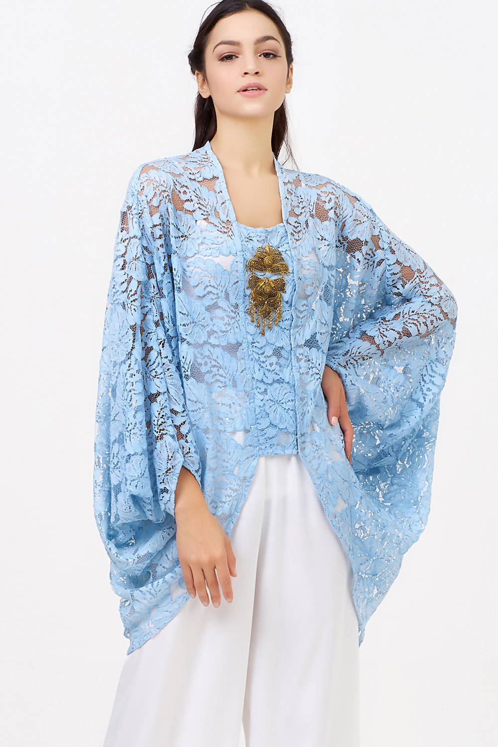 Barra Ramlia Top in Ice Blue