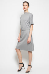 Eliza Dress in Grey