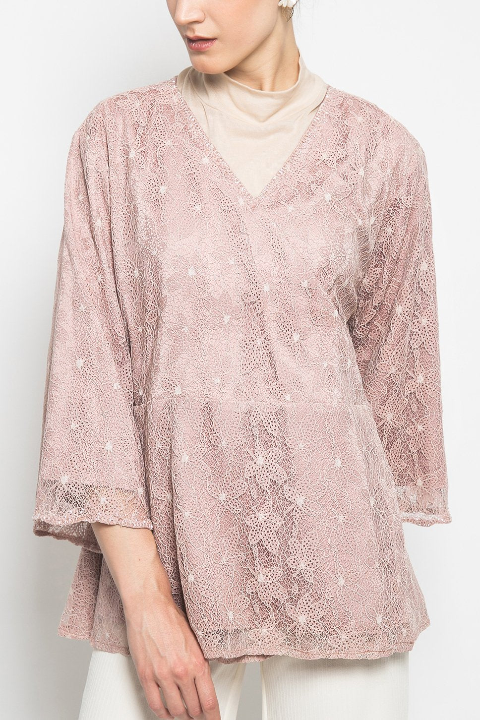 Camila Top in Dusty Pink