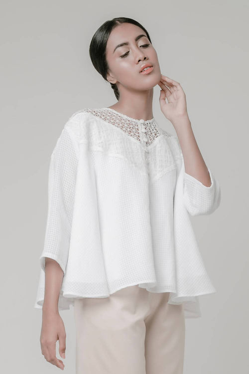 White Lace Tunic