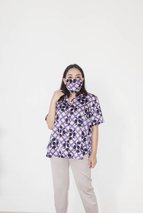 Summer shirt purple