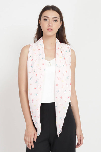Tropicana Scarf in Light Pink