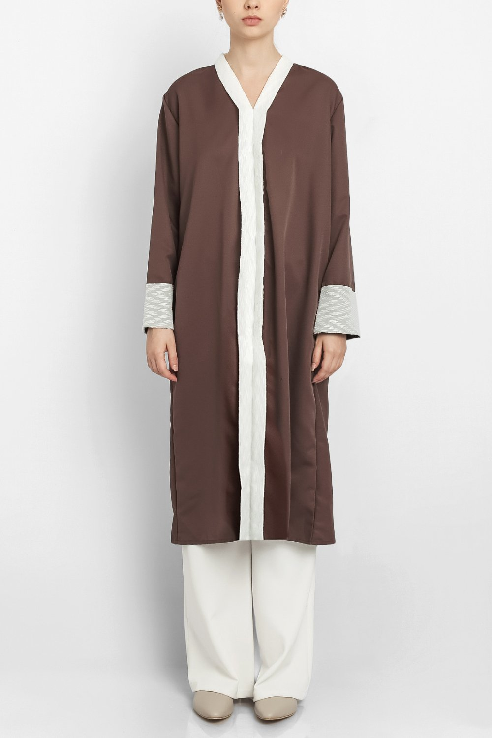 Sania Dress in Matte Brown