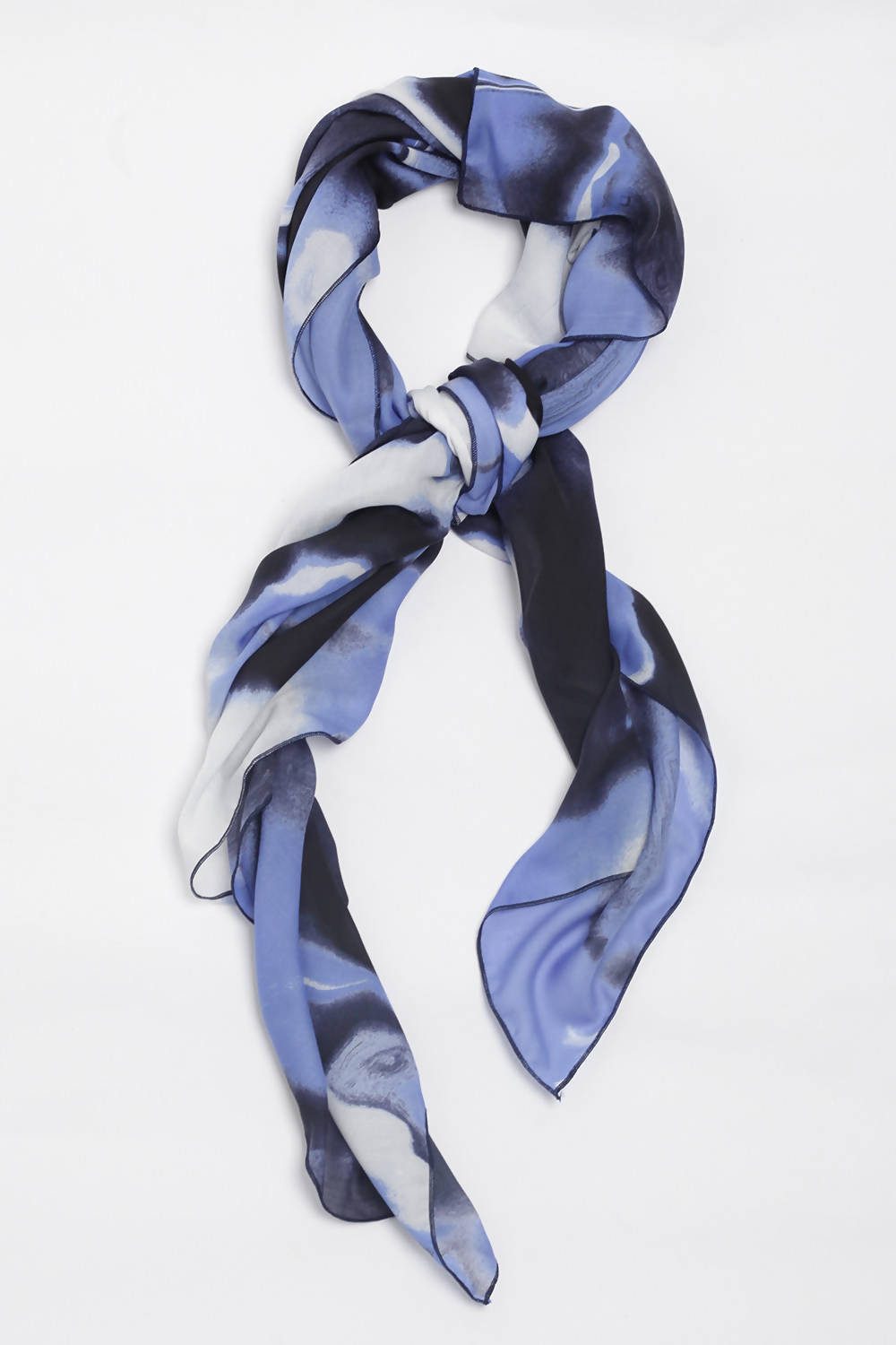 Rockpool Scarf in Blue
