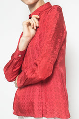 Nora Blouse in Red