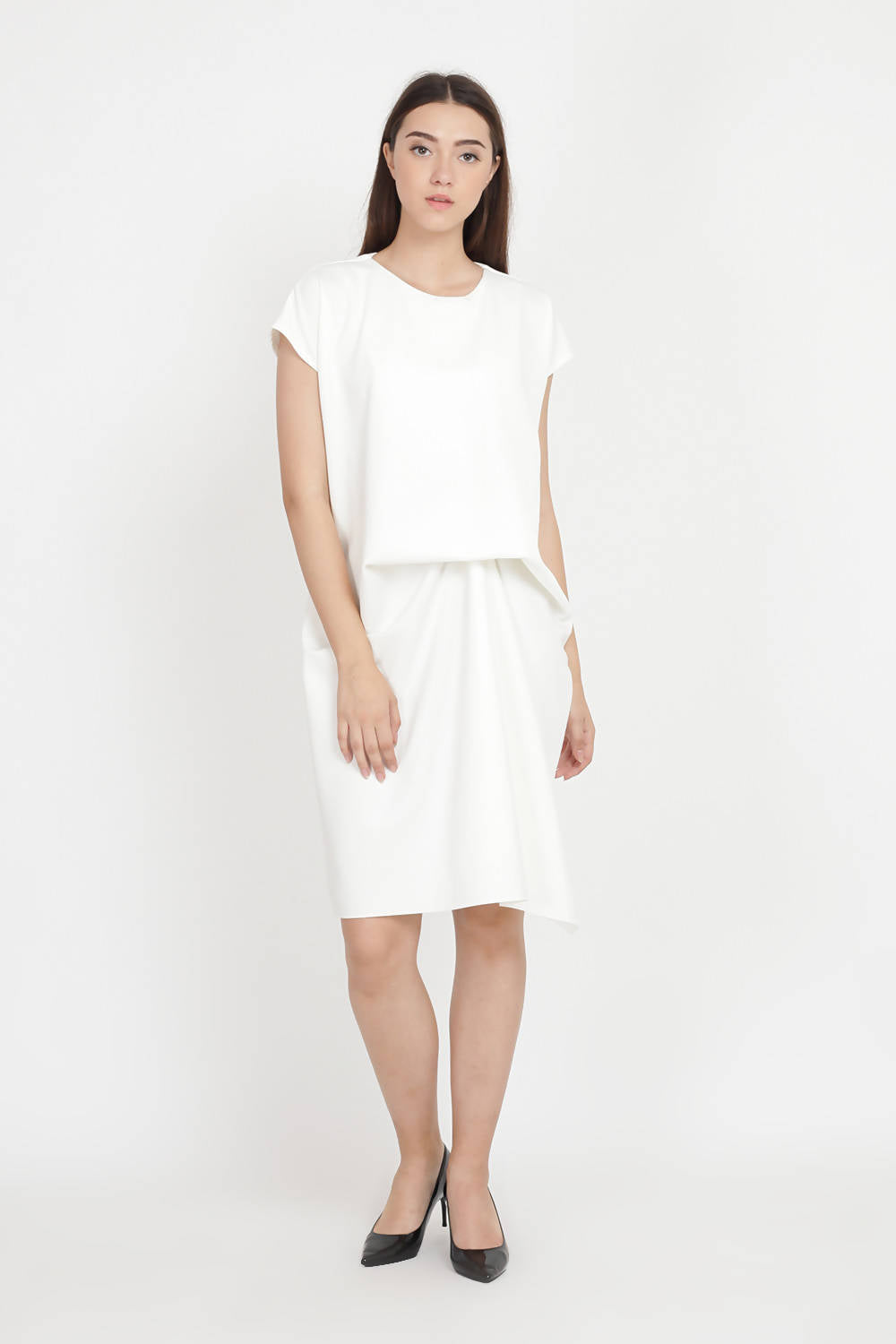Raya Dress in White