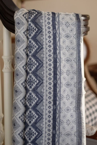 Classic Rudolph Shawl in Navy