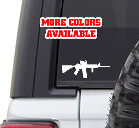 AR15 AR-15 M16 vinyl Sticker Decal