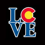 Colorado State Flag LOVE Sticker Decal L O V E Vinyl Sticker Decal